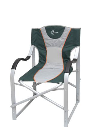 Πολυθρόνα Σκηνοθέτη Αλουμίνιο Polyester 600D 155-2310-6 Πράσινη khpos outdoor camping epoxiaka camping karekles paralias