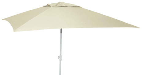Ομπρέλα Κήπου Μεταλλική 2x2m 372-0378-4 Εκρού khpos outdoor camping khpos beranta epipla khpoy