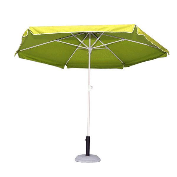 Ομπρέλα Βεράντας-Θαλάσσης 2,50m 372-5480-13 Κίτρινη khpos outdoor camping khpos beranta epipla khpoy