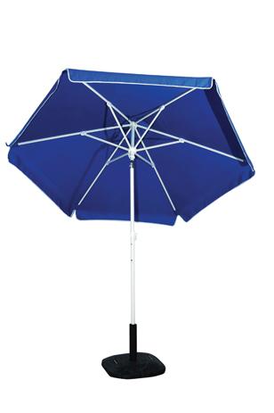 Ομπρέλα Βεράντας-Θαλάσσης 2m 372-6587-1 Μπλε khpos outdoor camping khpos beranta epipla khpoy