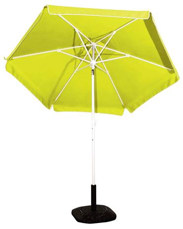 Ομπρέλα Βεράντας-Θαλάσσης 2m 372-6587-13 Κίτρινη khpos outdoor camping khpos beranta epipla khpoy