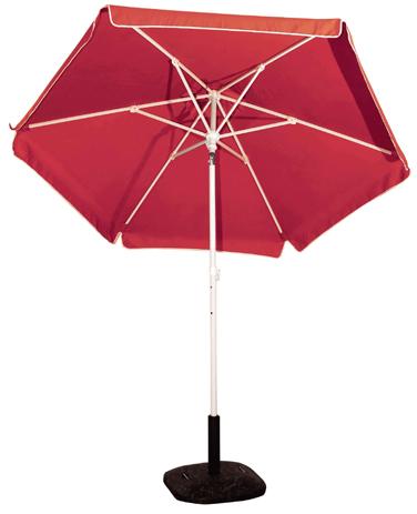 Ομπρέλα Βεράντας-Θαλάσσης 2m 372-6587-16 Μπορντω khpos outdoor camping khpos beranta epipla khpoy
