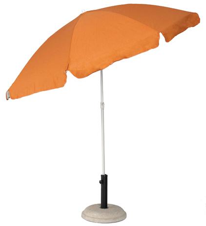 Ομπρέλα Βεράντας-Θαλάσσης 2m 371-0408-2 Πορτοκαλί khpos outdoor camping epoxiaka camping ompreles ualasshs