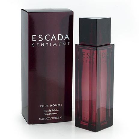 Escada Sentiment Homme Eau de Toilette 100ml fashion365 aromata andrika aromata