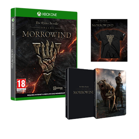 The Elder Scrolls Online Morrowind - XBox One Game gaming games paixnidia xbox one