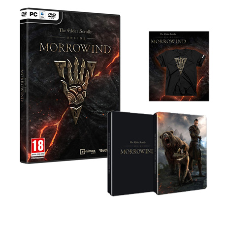 The Elder Scrolls Online Morrowind - PC Game gaming games paixnidia pc