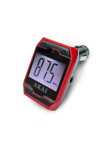 Car FM Transmitter Akai FMT-701D aytokinhto mhxanh eikona hxos hxosysthmata aytokinhtoy