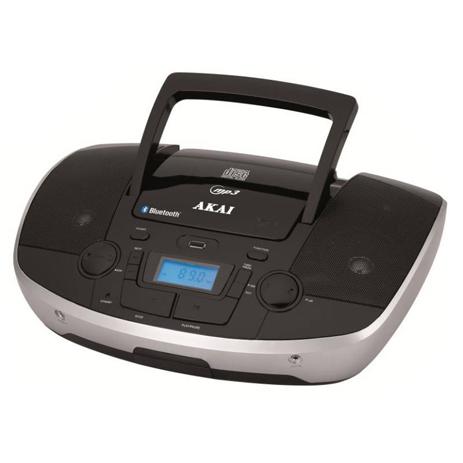 Φορητό Hi-Fi με Bluetooth/CD/USB/SD/Aux Akai APRC-108 hlektrikes syskeyes texnologia eikona hxos radiocdhi fi