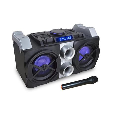 Φορητό Ηχείο Bluetooth Dj Mixer System-Karaoke Akai HT016A-88 (50w)