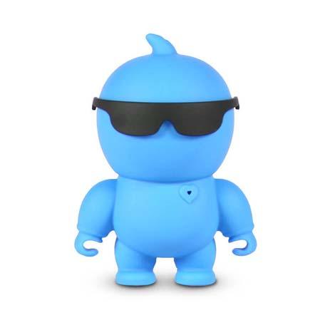 Φορητό Ηχείο Bluetooth Nikkei Nikkiebe Μπλε hlektrikes syskeyes texnologia perifereiaka ypologiston hxeia
