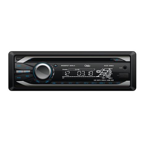 Ηχοσύστημα Αυτοκινήτου CD/MP3/USB/SD/Aux In Osio ACO-5490U hlektrikes syskeyes texnologia eikona hxos hxosysthmata aytokinhtoy