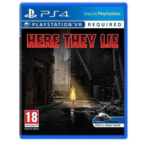 Here They Lie (VR) - PS4 Game gaming games paixnidia ps4