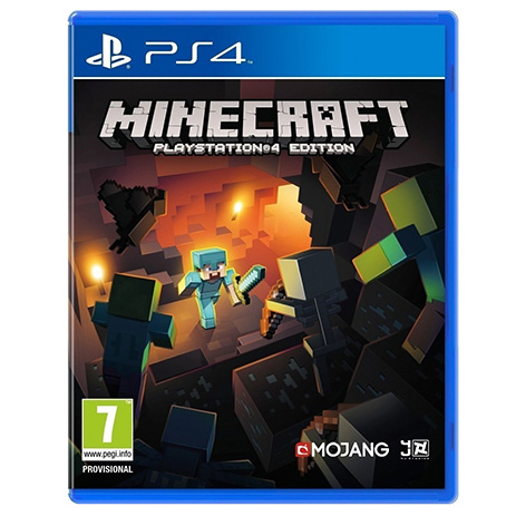 Minecraft - PS4 Game gaming games paixnidia ps4