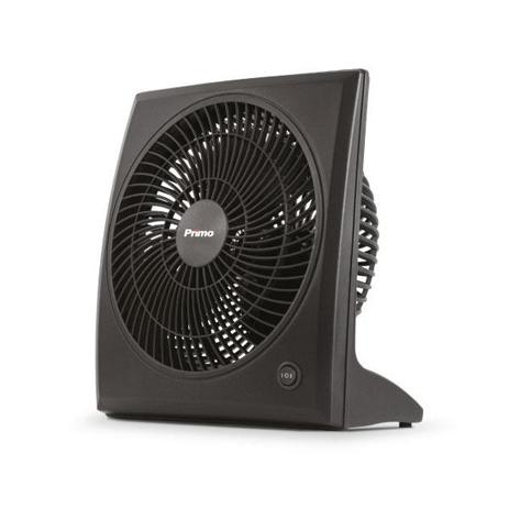 Ανεμιστήρας Box Fan 23εκ. Primo 15729 Μαύρος