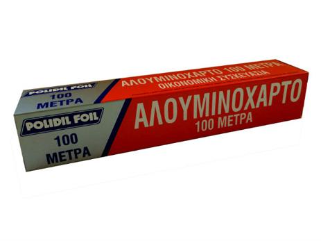 Αλουμινόχαρτο 100m 062602-16 spiti eidh mias xrhshs aloyminoxarto membranes