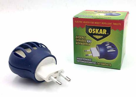 Εντομοαπωθητική Συσκευή Για Ταμπλέτες Oskar 27517901-36 hlektrikes syskeyes texnologia oikiakes syskeyes entomoapouhtika
