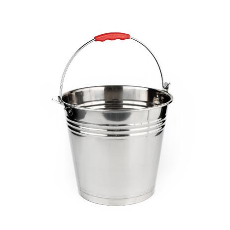 Κουβάς με Χέρι 12lt Inox Home&Style 6161232-30 spiti ergaleia kauarismoy koybadessfoyggaristres