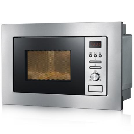 Φούρνος Μικροκυμάτων 20lt Εντοιχιζόμενος Με Grill Severin 7880 800W