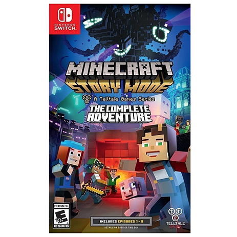 Minecraft Story Mode: The Complete Adventure - Nintendo Switch Game gaming games paixnidia nintendo switch