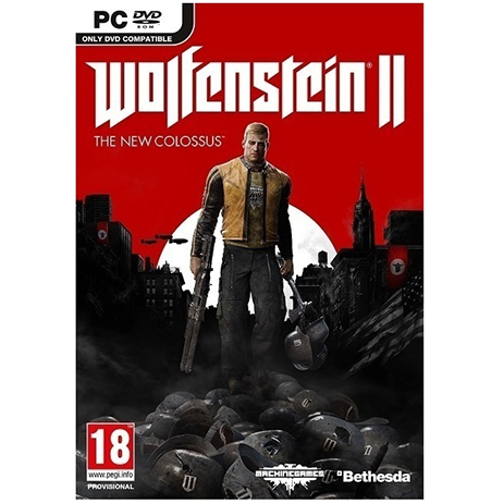 Wolfenstein II: The New Colossus - PC Game gaming games paixnidia pc