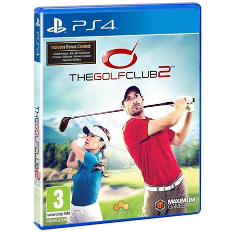 The Golf Club 2 - PS4 Game gaming games paixnidia ps4