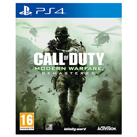 Call Of Duty Modern Warfare Remastered - PS4 Game gaming games paixnidia ps4