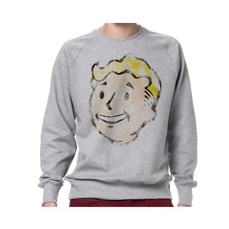 Gaya Fallout - Sweartshirt Vault Boy Vintage Small (GE1206S) gaming syllektika paixnidion mployzes t shirts