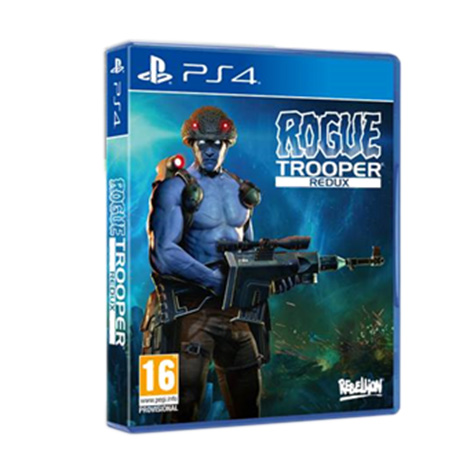 Rogue Trooper Redux - PS4 Game gaming games paixnidia ps4