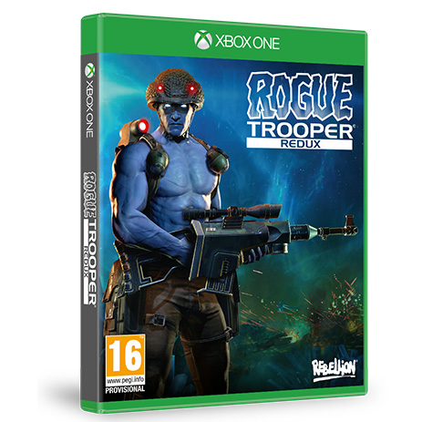 Rogue Trooper Redux - XBox One Game gaming games paixnidia xbox one
