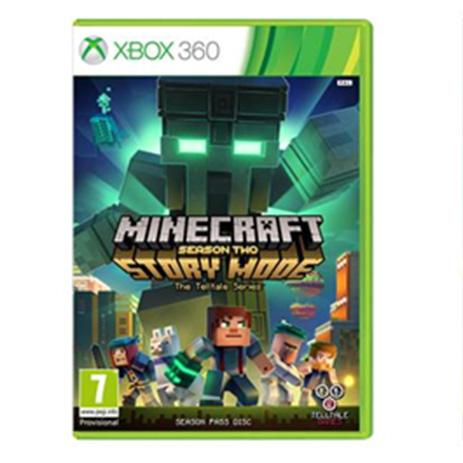 Minecraft Story Mode: Season 2 - Season Pass Disc - XBox 360 Game gaming games paixnidia xbox 360