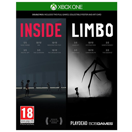 Inside Limbo Double Pack - XBox One Game gaming games paixnidia xbox one