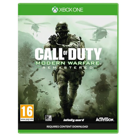 Call Of Duty Modern Warfare Remastered - XBox One Game gaming games paixnidia xbox one