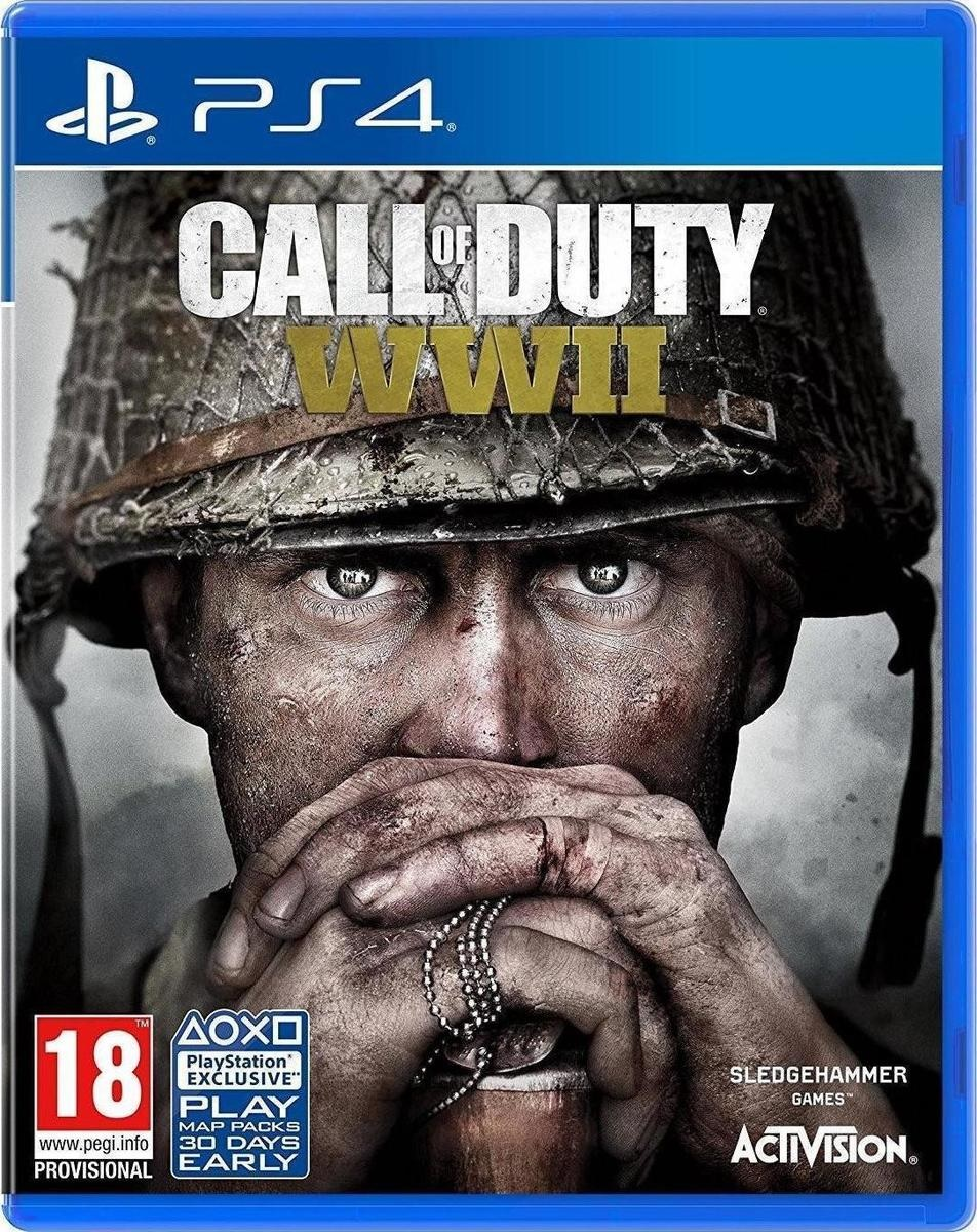 Call Of Duty WWII - PS4 Game gaming games paixnidia ps4