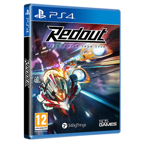 Redout - PS4 Game gaming games paixnidia ps4