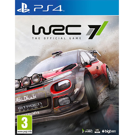WRC 7 - PS4 Game gaming games paixnidia ps4