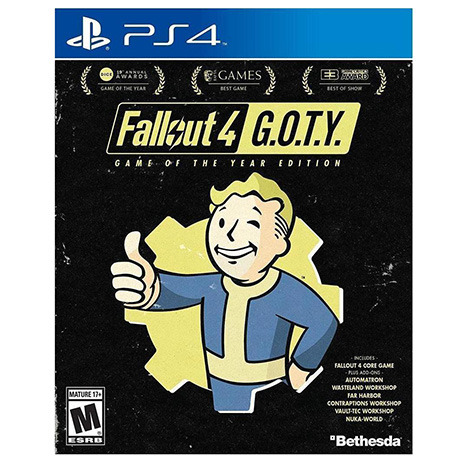 Fallout 4 Game Of The Year - PS4 Game gaming games paixnidia ps4