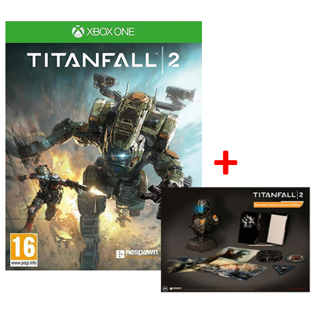 Titanfall 2 Frontline + Titanfall 2 Marauder Corps Collectors Edition Bundle - X gaming games paixnidia xbox one