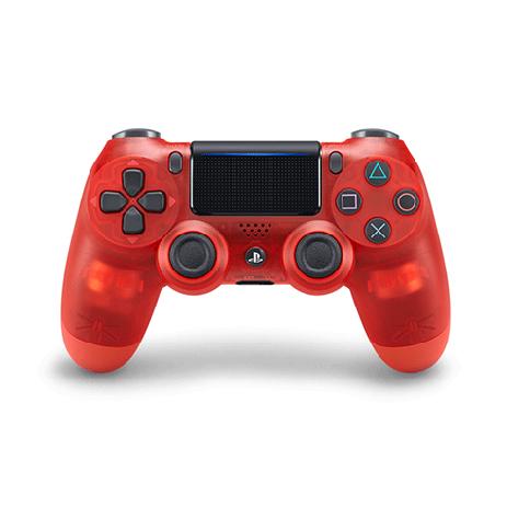 Χειριστήριο Ασύρματο Sony DualShock 4 V2 Crystal Red - PS4 Controller gaming perifereiaka gaming ps4 xeiristhria