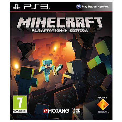 Minecraft - PS3 Game gaming games paixnidia ps3
