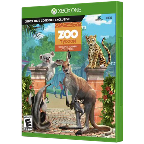 Zoo Tycoon - Zookeeper Collection Remastered - XBox One Game gaming games paixnidia xbox one