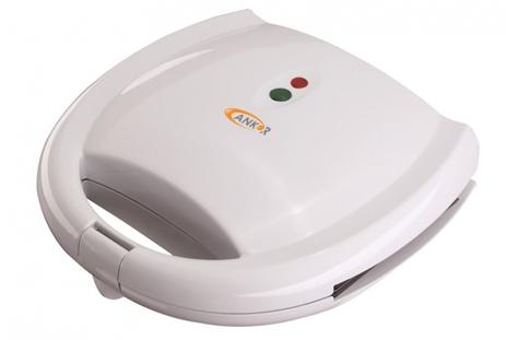 Τοστιέρα Ankor 767656 Λευκή hlektrikes syskeyes texnologia oikiakes syskeyes tostieres gkrilieres