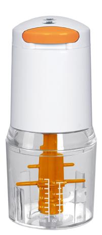 Πολυκόφτης Ankor M1-761562 Λευκός-Πορτοκαλί
