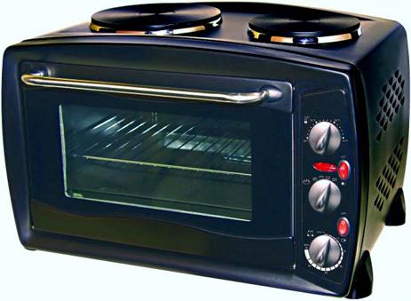 Ηλεκτρικό Φουρνάκι 26lt Ankor O-745371 Μαύρος hlektrikes syskeyes texnologia oikiakes syskeyes foyrnoi esties