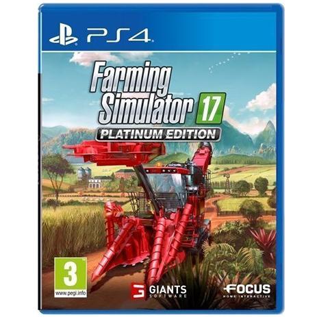 Farming Simulator 17 Platinum Edition - PS4 Game gaming games paixnidia ps4