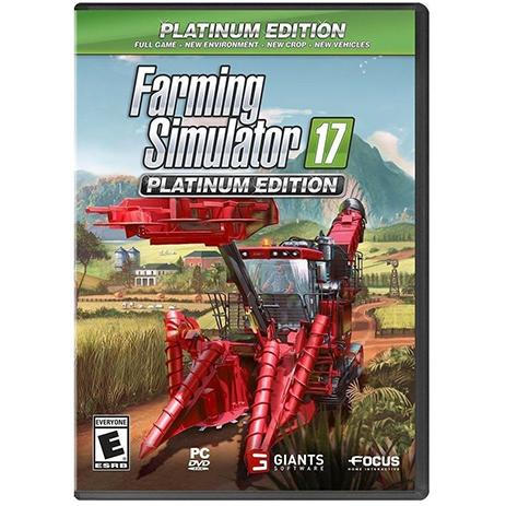 Farming Simulator 17 Platinum Edition - PC Game gaming games paixnidia pc