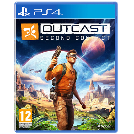 Outcast Second Contact - PS4 Game gaming games paixnidia ps4