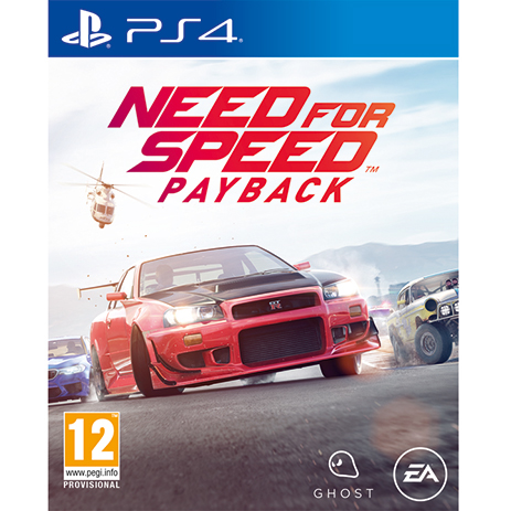 Need For Speed Payback - PS4 Game gaming games paixnidia ps4