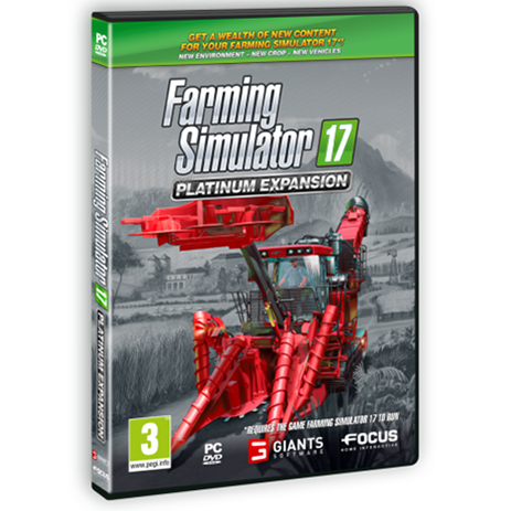 Farming Simulator 17 Platinum Expansion - PC Game
