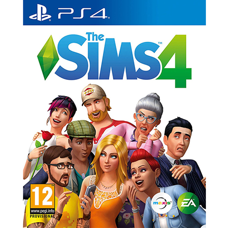 The Sims 4 - PS4 Game gaming games paixnidia ps4
