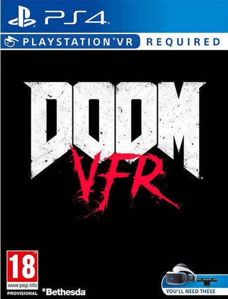 Doom VFR - PS4 Game gaming games paixnidia ps4